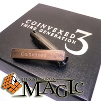 Coinvexed 3rd Generation by David Penn and World Magic Shop / close-up street coin magic trick product  wholesale  free shipping
