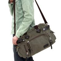 men's canvas shoulder bag cross-body bag casual travel bags