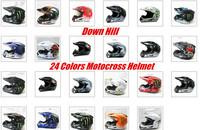 2014 New Ultra Light Top ABS Bicycle DH Helmets MTB  Rock Stars Motocross  Racing Helmets Down Hill Skull Off Road Helmet