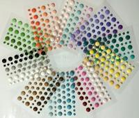 china scrapbook supplies-embellishments-self adhesive dots for scrapbooking-sparklets-self adhesive enamel dots