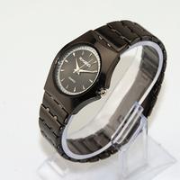 Free Shipping New 2014 Fashion Casual Black Luxury Wristwatch Women Alloy Band Quartz Watch Gift Lady Women's Dress Watches