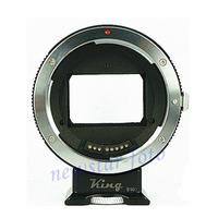 Autofocus Adapter for Canon EF EF-S lens to for Sony NEX E Mount NEX-6N, EX-VG20, FS100, FS700 & Alpha A7/A7R/A7S full-frame