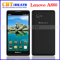 Lenovo A880 smart phones MTK6582 Quad Core 1.3GHz 6 inch QHD 1GB RAM 8GB Dual SIM WiFi WCDMA GPS