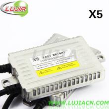 Envío libre! X5 Hot Fast brillante AC 55W de Canbus digital HID Xenon lastre libre de errores, de alta calidad(China (Mainland))