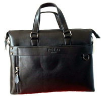 New 2014 Fashion Brand Genuine Leather Bags Interior Compartment utility men messenger bags Business bag laptop bag