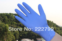 Disposable nitrile  wear-resistant  gloves food beauty gloves  Light Purple s m l three size free shipping