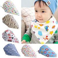 Fashion Baby Kid Toddler Bandana Bibs Saliva Towel Dribble Triangle boy girls cotton Head Scarf