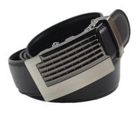 Man Genuine leather belt Fashion belts  for men Business Automatic Buckle double faced cowhide belt luxury MZ004