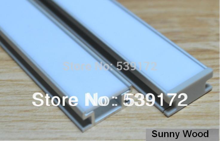 10pcs/lot aluminum profile for led strip, for 10mm PCB board led bar light,YD-1003(China (Mainland))