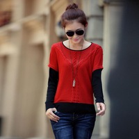 spring 2014 pullover women, casual dress, pullovers sweater women, knitted turtleneck, brand hot sale women