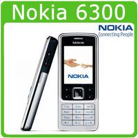 support Russian keyboard russian menu Original Nokia 6300 unlocked cell phone 2MP camera FM radio cellphone