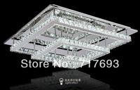 2014 new modern crystal  crystal LED ceiling light for living room bedroom light free shipping