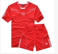 Team soccer jersey set football jersey football clothing short-sleeve sportswear football training services