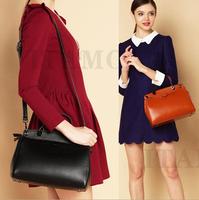 2014 NEW 100% genuine cow leather women handbag vintage women bag motorcycle bag Fashion women shoulder bag women messenger bag