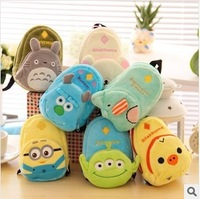 HOT 2014 The three-dimensional cartoon small coin purse lovely female card holder key wallet coin case women wallet