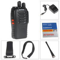 2pcs Portable Digital BaoFeng BF-888S Walkie Talkie FM Transceiver with Flashlight 400-470MHz Interphone Dual Band Two Way Radio