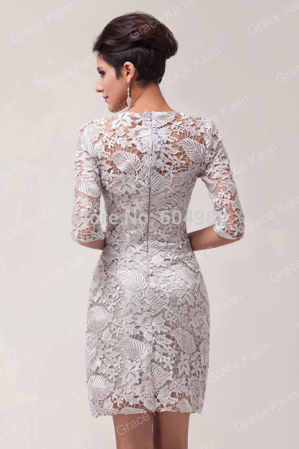 Платья из гипюра короткие