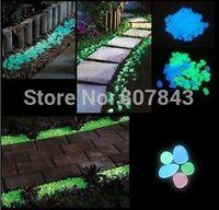 500g Glow in the dark stones for FISH TANK AQUARIUM Garden glower pot  luminous stones