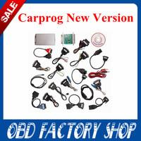 2015 New arrival Full set Auto repair tool CarProg V7.28 ECU chip tunning adapter programmer car prog with all softwares