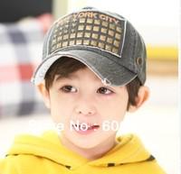 kids COTTON baseball caps boys hats children sports Cap hat No.194 5colors