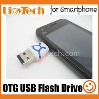 Smartphone OTG USB Flash Drive 2GB 4GB 8GB 16GB 32GB Pen Drive Dual plug for Android Smartphone Tablet for Samsung, retail box