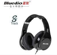 Bluedio headset  R-WH  8-channel headset, 2+6 hifi Audio speaker units DJ monitor headphones Free Shipping