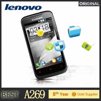 Cheap Lenovo A269 A269I Android Phone 3.5Inch Screen MTK6572 Dual Core GSM WCDMA Dual SIM 3G Cell Phone
