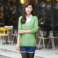 new 2014 knitted sweater, casual dress, oversized sweater, women sweaters and pullovers, woman coats, loose sweater