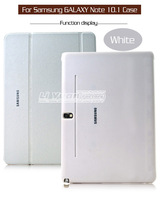 Book Cover PU Leather Case Tablet For Samsung Galaxy Note 10.1 2014 Edition P600 P601 P605 Original 1:1 1PCS Free Postage