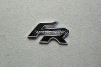 Black Color ABS FR Stickers Logo Emblems Badges