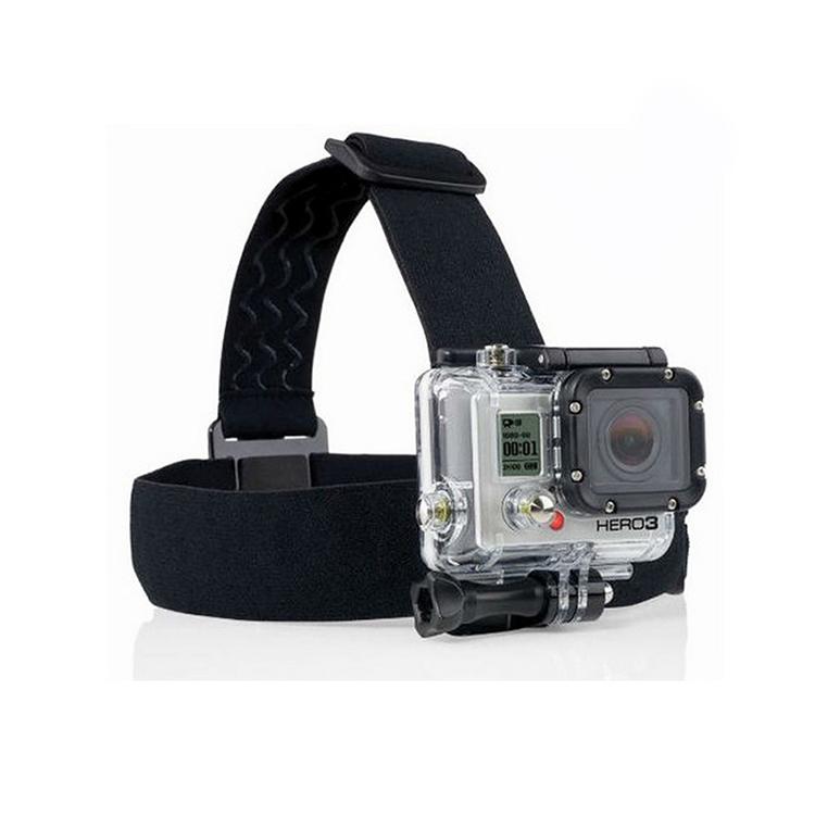gopro hero 3 Elastic Adjustable Head Strap Mount For Go pro Hero 4 3 2 Cameras Accessories with anti-slide glue like original(China (Mainland))
