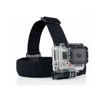 gopro hero 3 Elastic Adjustable Head Strap Mount For Go pro Hero 4 3 2  Cameras Accessories with anti-slide glue like original