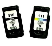 Remanufactured for Canon PG 510 CL 511 ink cartridge for Canon PIXMA iP2700 MP240 MP270 MP280 MP480 MP490 MX320 MX350 printer