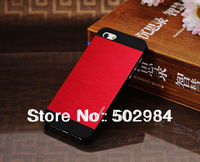 2014 Newest INO Motomo Luxury Crafted Brushed Aluminum Metal Case For iPhone 4 4G 4S 5 5G 5S Ultra thin Deluxe Back Cover DHL