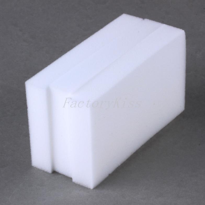Free Shipping Hot Sales 100pcs Multi-functional Magic Sponge Eraser Melamine Cleaner 100x60x15MM [4003-402](China (Mainland))