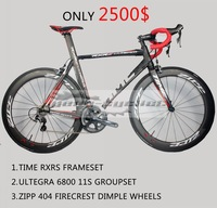 time rxrs complete bike complete ultegra 6800 groupset carbon bikes bb30 road racing full toray t700 carbon cycling bikes