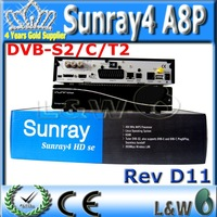 Sunray sr4 800se sunray4 With sim A8P security card wifi receiver Rev D11---can flash the original software FEDEX free shipping