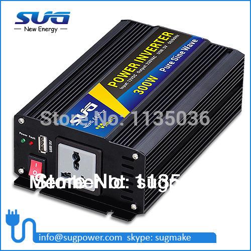 Pure sine wave inverter 300W 110VAC 100VAC 220VAC 230VAC 12VDC 24VDC, CE ROHS, Solar Inverter, Power inverter, Car Inverter(China (Mainland))