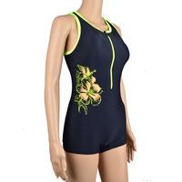 Professional Swimwear Women's sports swimsuit one-piece dress small steel push up plus size swimwear hot spring swimwear