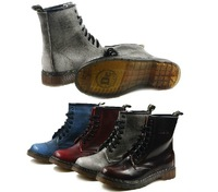 2014 New Dr Aizwsin TRP Women Winter Fur Martin Boots Causal Shoes Genuine Leather for Woman