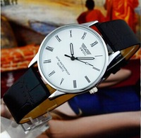 Casual lovers watch male table vintage table women's table quartz strap mens watch