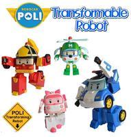 Robocar poli deformation car bubble South Korea Thomas toys Star wars Pink/Green/Red 4 mix robocar poli Minifigure Gift For Kids