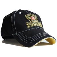 2014 Fashion Visors sports cap, Russian Sochi sun-shading hat male women's summer sun hat casual Embroidery cap Unisex