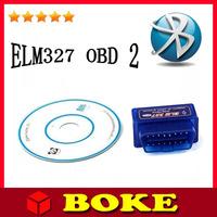 Super Mini ELM 327,Mini 327 Bluetooth,ELM327 Works on Android Torque Super Professtinal OBD II Obd 2 Scanner Tool ,Fast Shipping