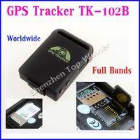 100% Brand New TK102B  Mini Global GPS Car Tracker Real Time TK102B Personal Tracking Device Personal/Cat/Dog GPS Tracker