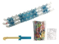 5 Sets/Lot New 2014 DIY Loom Kit Set For Kids With Loom Bands Free Shipping