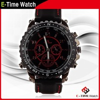 New Arrival V6 Luxury Brand Leather Strap Watch Men Quartz Watch Casual Sport Wristwatch Casual Men's Military Watches MN4715