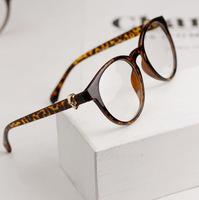 Free shipping fashion glasses men and women eyewear retro vintage myopia spectacle eyeglasses  frames black/blue/pink/coffer/