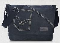 bolsa carteiro masculina 2015 new fashion promotion! Men's canvas Retro shoulder bag diagonal duffel travel military bags