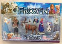 2014 hot sell 18pcs/lot frozen girls H.frozen anna frozen elsa
